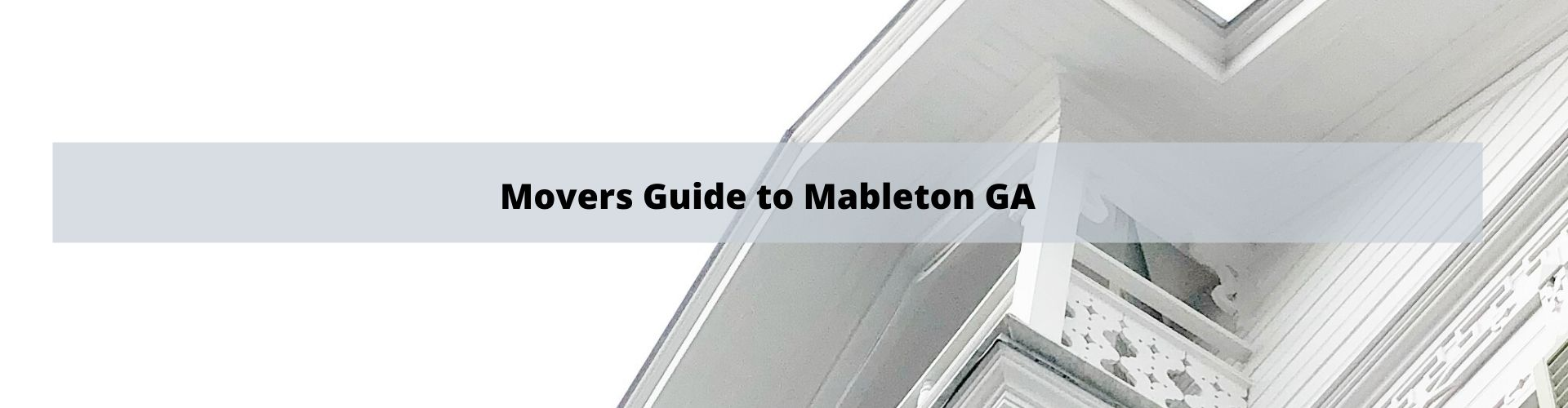 Mover's Guide to Mableton GA